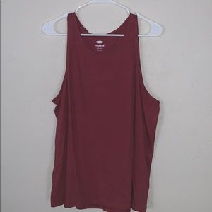 OLD NAVY xxl red tank super comfy